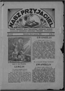 """Nasz Przyjaciel : dodatek tygodniowy """"Głosu Wąbrzeskiego"""" poświęcony sprawom oświatowym, kulturalnym i literackim 1934.12.22, R. 15 [i.e. 12], nr 53 [i.e. 51]"""