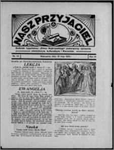 """Nasz Przyjaciel : dodatek tygodniowy """"Głosu Wąbrzeskiego"""" poświęcony sprawom oświatowym, kulturalnym i literackim 1935.05.18, R. 16[!], nr 19"""