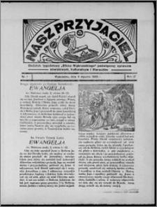 """Nasz Przyjaciel : dodatek tygodniowy """"Głosu Wąbrzeskiego"""" poświęcony sprawom oświatowym, kulturalnym i literackim 1936.01.04, R. 17, nr 1"""