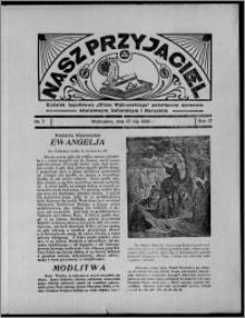 """Nasz Przyjaciel : dodatek tygodniowy """"Głosu Wąbrzeskiego"""" poświęcony sprawom oświatowym, kulturalnym i literackim 1936.02.15, R. 17, nr 7"""