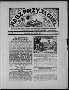 """Nasz Przyjaciel : dodatek tygodniowy """"Głosu Wąbrzeskiego"""" poświęcony sprawom oświatowym, kulturalnym i literackim 1936.02.22, R. 17, nr 8"""