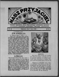 """Nasz Przyjaciel : dodatek tygodniowy """"Głosu Wąbrzeskiego"""" poświęcony sprawom oświatowym, kulturalnym i literackim 1936.03.07, R. 17, nr 10"""