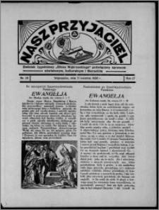 """Nasz Przyjaciel : dodatek tygodniowy """"Głosu Wąbrzeskiego"""" poświęcony sprawom oświatowym, kulturalnym i literackim 1936.04.11, R. 17, nr 15"""