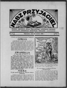 """Nasz Przyjaciel : dodatek tygodniowy """"Głosu Wąbrzeskiego"""" poświęcony sprawom oświatowym, kulturalnym i literackim 1936.04.25, R. 17, nr 17"""