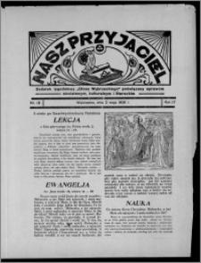 """Nasz Przyjaciel : dodatek tygodniowy """"Głosu Wąbrzeskiego"""" poświęcony sprawom oświatowym, kulturalnym i literackim 1936.05.02, R. 17, nr 18"""