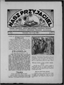 """Nasz Przyjaciel : dodatek tygodniowy """"Głosu Wąbrzeskiego"""" poświęcony sprawom oświatowym, kulturalnym i literackim 1936.05.09, R. 17, nr 19"""