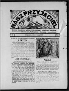 """Nasz Przyjaciel : dodatek tygodniowy """"Głosu Wąbrzeskiego"""" poświęcony sprawom oświatowym, kulturalnym i literackim 1936.05.16, R. 17, nr 20"""