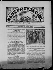 """Nasz Przyjaciel : dodatek tygodniowy """"Głosu Wąbrzeskiego"""" poświęcony sprawom oświatowym, kulturalnym i literackim 1936.05.23, R. 17, nr 21"""
