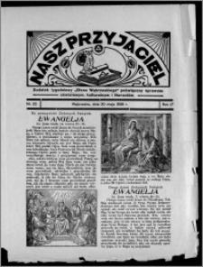 """Nasz Przyjaciel : dodatek tygodniowy """"Głosu Wąbrzeskiego"""" poświęcony sprawom oświatowym, kulturalnym i literackim 1936.05.30, R. 17, nr 22"""