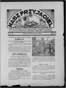 """Nasz Przyjaciel : dodatek tygodniowy """"Głosu Wąbrzeskiego"""" poświęcony sprawom oświatowym, kulturalnym i literackim 1936.06.06, R. 17, nr 23"""