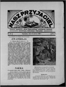 """Nasz Przyjaciel : dodatek tygodniowy """"Głosu Wąbrzeskiego"""" poświęcony sprawom oświatowym, kulturalnym i literackim 1936.06.13, R. 17, nr 24"""