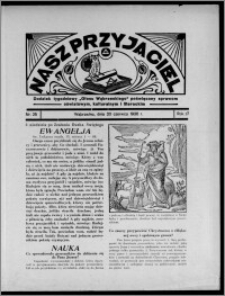 """Nasz Przyjaciel : dodatek tygodniowy """"Głosu Wąbrzeskiego"""" poświęcony sprawom oświatowym, kulturalnym i literackim 1936.06.20, R. 17, nr 25"""