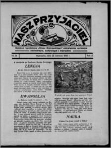 """Nasz Przyjaciel : dodatek tygodniowy """"Głosu Wąbrzeskiego"""" poświęcony sprawom oświatowym, kulturalnym i literackim 1936.06.27, R. 17, nr 26"""