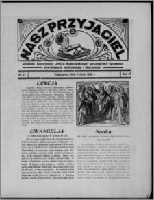 """Nasz Przyjaciel : dodatek tygodniowy """"Głosu Wąbrzeskiego"""" poświęcony sprawom oświatowym, kulturalnym i literackim 1936.07.04, R. 17, nr 27"""