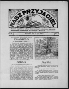 """Nasz Przyjaciel : dodatek tygodniowy """"Głosu Wąbrzeskiego"""" poświęcony sprawom oświatowym, kulturalnym i literackim 1936.07.11, R. 17, nr 28"""