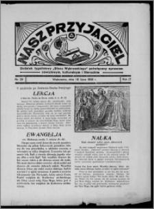 """Nasz Przyjaciel : dodatek tygodniowy """"Głosu Wąbrzeskiego"""" poświęcony sprawom oświatowym, kulturalnym i literackim 1936.07.18, R. 17, nr 29"""