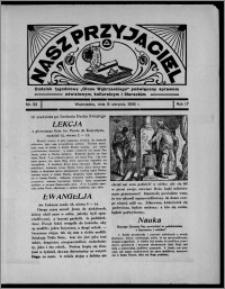 """Nasz Przyjaciel : dodatek tygodniowy """"Głosu Wąbrzeskiego"""" poświęcony sprawom oświatowym, kulturalnym i literackim 1936.08.08, R. 17, nr 32"""