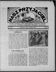 """Nasz Przyjaciel : dodatek tygodniowy """"Głosu Wąbrzeskiego"""" poświęcony sprawom oświatowym, kulturalnym i literackim 1936.09.05, R. 17, nr 36"""