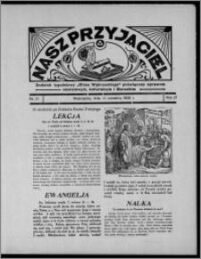 """Nasz Przyjaciel : dodatek tygodniowy """"Głosu Wąbrzeskiego"""" poświęcony sprawom oświatowym, kulturalnym i literackim 1936.09.12, R. 17, nr 37"""