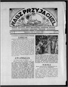 """Nasz Przyjaciel : dodatek tygodniowy """"Głosu Wąbrzeskiego"""" poświęcony sprawom oświatowym, kulturalnym i literackim 1936.09.19, R. 17, nr 38"""