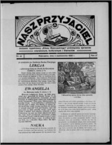 """Nasz Przyjaciel : dodatek tygodniowy """"Głosu Wąbrzeskiego"""" poświęcony sprawom oświatowym, kulturalnym i literackim 1936.10.03, R. 17, nr 40"""