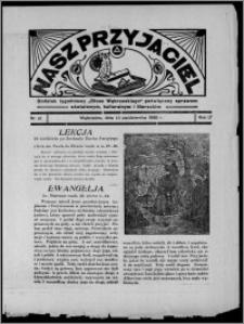 """Nasz Przyjaciel : dodatek tygodniowy """"Głosu Wąbrzeskiego"""" poświęcony sprawom oświatowym, kulturalnym i literackim 1936.10.10, R. 17, nr 41"""