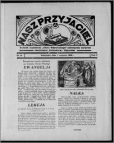 """Nasz Przyjaciel : dodatek tygodniowy """"Głosu Wąbrzeskiego"""" poświęcony sprawom oświatowym, kulturalnym i literackim 1936.11.07, R. 17, nr 45"""