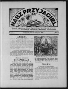 """Nasz Przyjaciel : dodatek tygodniowy """"Głosu Wąbrzeskiego"""" poświęcony sprawom oświatowym, kulturalnym i literackim 1936.11.28, R. 17, nr 48"""