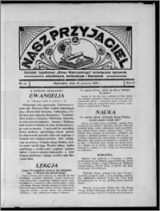 """Nasz Przyjaciel : dodatek tygodniowy """"Głosu Wąbrzeskiego"""" poświęcony sprawom oświatowym, kulturalnym i literackim 1936.12.19, R. 17, nr 51"""