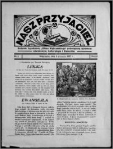 """Nasz Przyjaciel : dodatek tygodniowy """"Głosu Wąbrzeskiego"""" poświęcony sprawom oświatowym, kulturalnym i literackim 1937.01.08, R. 18, nr 2"""