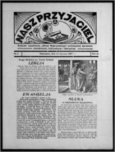 """Nasz Przyjaciel : dodatek tygodniowy """"Głosu Wąbrzeskiego"""" poświęcony sprawom oświatowym, kulturalnym i literackim 1937.01.16, R. 18, nr 3"""