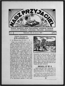 """Nasz Przyjaciel : dodatek tygodniowy """"Głosu Wąbrzeskiego"""" poświęcony sprawom oświatowym, kulturalnym i literackim 1937.01.23, R. 18, nr 4"""
