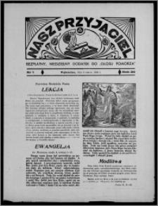 """Nasz Przyjaciel : bezpłatny, niedzielny dodatek do """"Głosu Pomorza"""" 1938.03.06, R. 20[!], nr 1"""