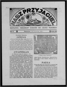 """Nasz Przyjaciel : bezpłatny, niedzielny dodatek do """"Głosu Pomorza"""" 1938.04.10, R. 20[!], nr 5 [i.e. 6]"""