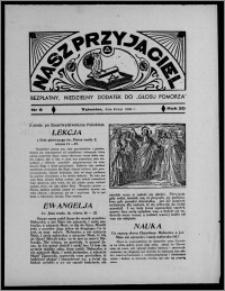 """Nasz Przyjaciel : bezpłatny, niedzielny dodatek do """"Głosu Pomorza"""" 1938.05.08, R. 20[!], nr 9 [i.e. 10]"""