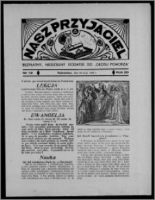 """Nasz Przyjaciel : bezpłatny, niedzielny dodatek do """"Głosu Pomorza"""" 1938.05.29, R. 20[!], nr 12 [i.e.13]"""