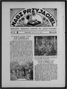 """Nasz Przyjaciel : bezpłatny, niedzielny dodatek do """"Głosu Pomorza"""" 1938.06.05, R. 20[!], nr 13 [i.e.14]"""