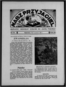 """Nasz Przyjaciel : bezpłatny, niedzielny dodatek do """"Głosu Pomorza"""" 1938.06.19, R. 20[!], nr 15 [i.e. 16]"""