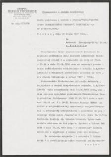 Tłumaczenie z języka rosyjskiego pisma Ministerstwa Spraw Zagranicznych Federacji Rosyjskiej w sprawie S. K. Kowalewskiej