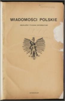 Wiadomości Polskie 1944.01.06, R. 5 nr 1 (170)