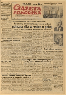 Gazeta Pomorska, 1950.02.27, R.3, nr 58