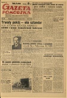 Gazeta Pomorska, 1950.03.12, R.3, nr 71