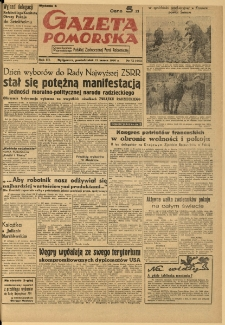 Gazeta Pomorska, 1950.03.13, R.3, nr 72