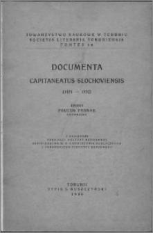 Documenta Capitaneatus Slochoviensis : (1471-1770)