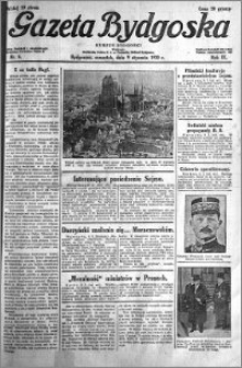 Gazeta Bydgoska 1930.01.09 R.9 nr 6