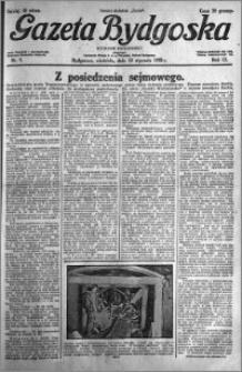 Gazeta Bydgoska 1930.01.12 R.9 nr 9