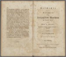 Geschichte der Botschaft im Herzogthum Warschau im Jahre 1812 Abt. 2