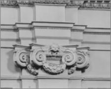 Kraków. Kościół ewangelicki św. Marcina. Wnętrze – głowica pilastra w nawie głównej