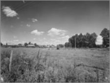 Kleszczele (woj. podlaskie) – widok od płd. zach. z przedłużeniem ul. Świerczewskiego (ob. Henryka Sienkiewicza)