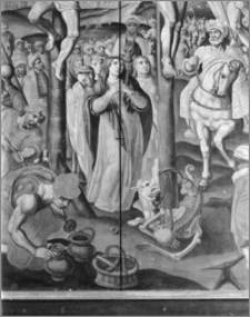 Toruń. Bazylika katedralna św. Jana Chrzciciela i św. Jana Ewangelisty. Wnętrze. Epitafium Sebastiana Trosta (zm. 1578) w nawie południowej - fragment